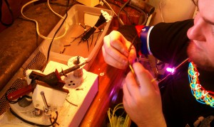 Cool Neon EL Wire soldering - let our experts help you!